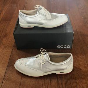 NIB ladies' Ecco Women's Classic Golf Shoe 9-9.5
